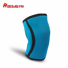 2017 Best New design Gym Powerlifting athletics 7MM Neoprene Knee Brace Support sleeve(China)