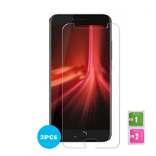 3PCS 9H Tempered Glass For Umidigi Umi Z1 Pro (Not Full Cover) Screen Protector 5.5 Inches Ultra-thin Z1 Pro Screen Saver Guard