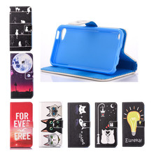 For Apple Ipod Touch 6 Case Flip Leather Wallet Card Slot Phone Case For Coque Ipod Touch 5 Silicone Souple Case Cover Stand(China)