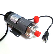 Magnetic Drive Pump 15R With Stainless Steel Head,Homebrew Pump with CE Certification ,110V US Plug