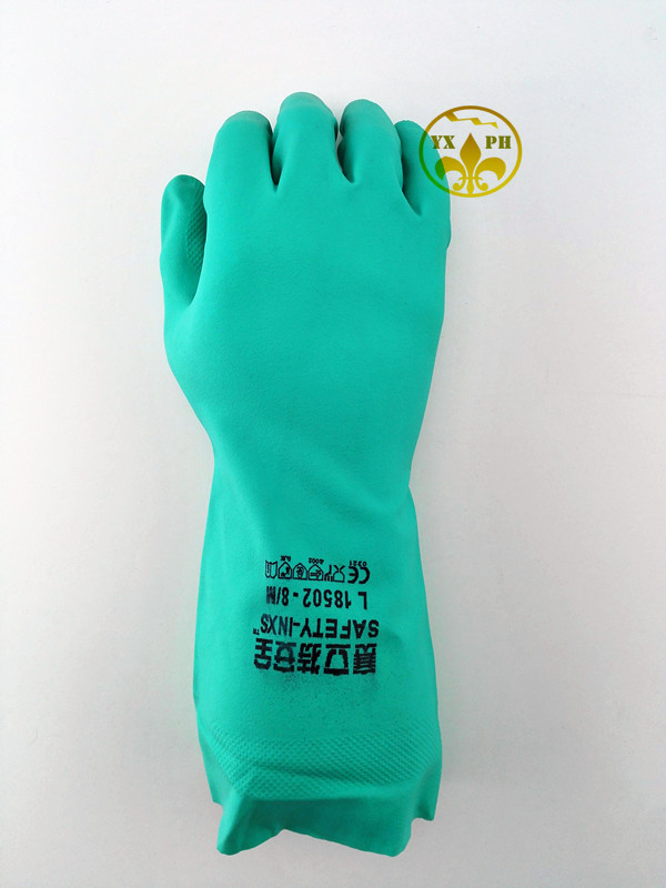 2017 new nitrile glovesINXS chemical resistant to acid and alkali protection gloves resistant to wear and puncture-proof gloves<br><br>Aliexpress