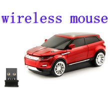 Mini portable popular car style 3 colors wireless mouse 1200dpi for computer laptop desktop WIN7 WIN8 WIN10 PC gaming mouse
