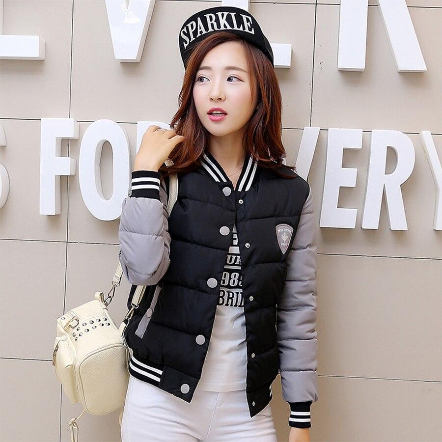 2017 New Winter Jacket Women Korea Fashion Uniform Warm Jackets Winter Coat Women Cotton Female Parkas Womens Winter Jacket HotОдежда и ак�е��уары<br><br><br>Aliexpress