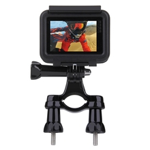 Buy Bicycle Mount Bike Handlebar Seatpost Tripod Holder Clamp Gopro Hero 6534 SJCAM SJ4000 Xiaomi Yi 4K Camera Accessories for $4.50 in AliExpress store