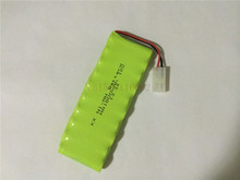 4PCS/lot New Origina AA Ni-MH 12V 1800mAh Ni MH Rechargeable Battery Pack With Plugs Free Shipping