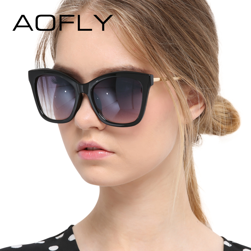 AOFLY New Cat Eye Sunglasses Fashion Vintage Summer Style High Quality Brand Design for Women oculos de sol das mulheres UV400<br><br>Aliexpress