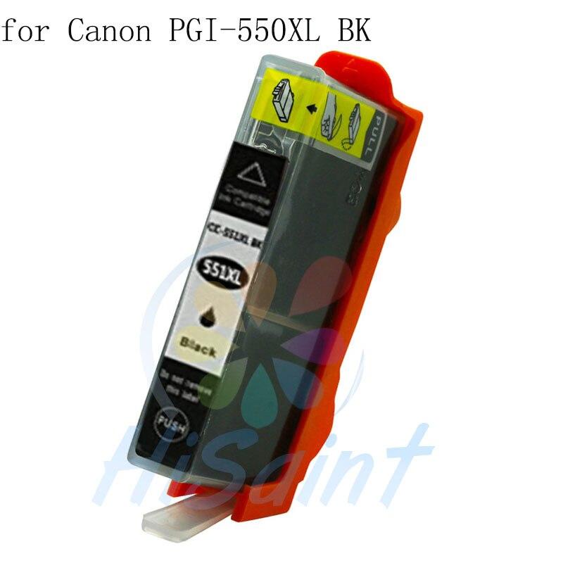 New PGI-550XL Ink Cartridge For Canon PGI550XL 550XL Sale PIXMA IP7250/MG5450/MG6350/MG7150/MG6450/MG5550 Drucker tinte ARC Chip<br><br>Aliexpress