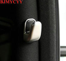 BJMYCYY Chrome Car B Pillar Cover Trim Car Line B Pillar Decorative Hook Mercedes Benz E Class W212 S Class S320 Car Styling