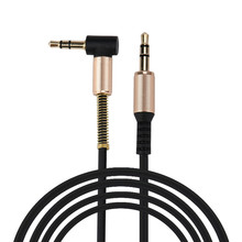 2016 hot sale fashion 3.5mm Auxiliary Cable Audio Cable Male To Male Flat Aux Cable 1.2m very nice