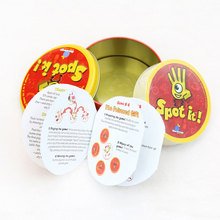 "Newest Spot Dobble Find It Board Game""Let's Spot It "" Find And Match Portable Fast-Paced Observation Puzzle Playing Card Game(China)"