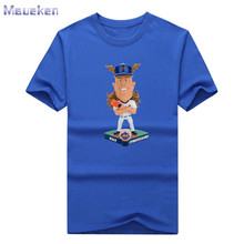 New 2017  NOAH SYNDERGAARD cartoon funny new york T-shirt 100% Cotton for mets fans T shirt 0901-2