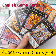41pcs /Set With Box Game Paper Fighting Cards Toys Girl Boy Game Collection Cards Christmas Gift Brinquedo Toy(China)