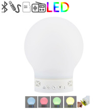 Smart Tiger LED wireless Bluetooth speaker touch dimmer bedside lamp color hands-free audio emotion