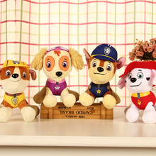 2017 PAW Patro Anime Kids Toys Patrolling Puppy Toy Canine Patro Action Figure Plush Model dog toys