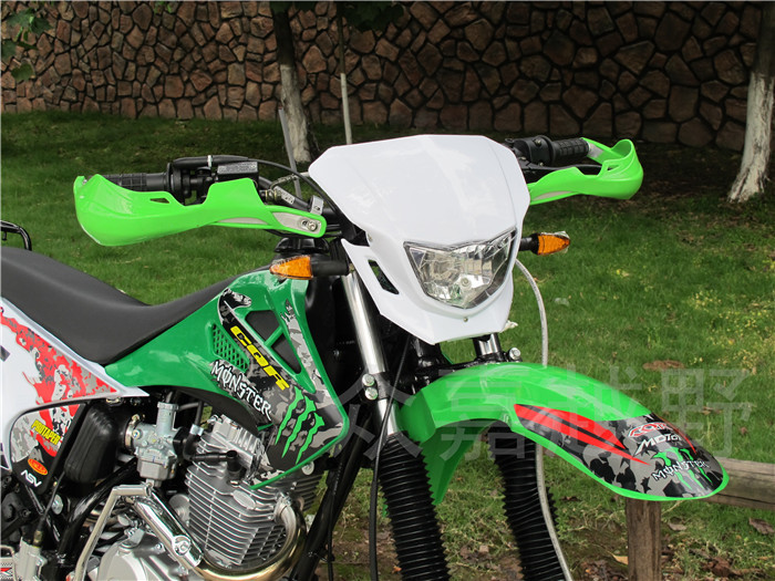 7/8 Green Motorcycle HandGuard Hand Guards for Yamaha YZ Wr TT Pw 450F 250F 250 R230 R125 R110<br>