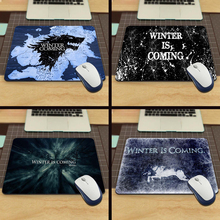 Winter is Coming Game Of Thrones Silicon Anti-slip Mousepad Computer Mouse Pad Mat