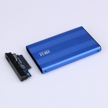 USB 3.0 HDD Hard Drive External Enclosure Aluminum alloy 2.5 Inch SATA HDD Hard Disk Drive Case Box High Quality