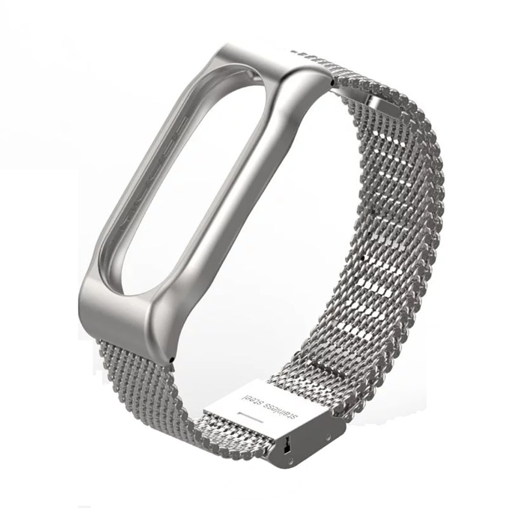 Metal Strap for Xiaomi MiBand2 Screwless Magnetic Stainless Steel Bracelet Wristbands Replace Accessories Host not Included