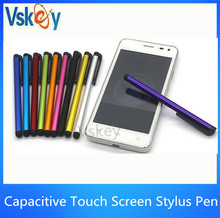 5000pcs/Lot Capacitive Touch Screen Stylus Pen For Iphone Samsung Universal Mobile Phone Touch Pen /Accept Customize LOGO