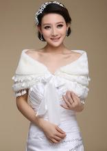 Scarves Wraps Bridal Wraps new bride wedding shawl  shawl white shawl cheongsam dress Winter models Wedding Accessories 104-11