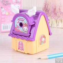 Deli Fashion Pencil Sharpener Art Shake Kawaii Stationery School New Year gift for kid house stones for sharpening knives