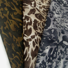 1 piece Thin Fashion African Voile High Quality Chiffon Fabric French Camouflage Leopard Print Scarf Apparel Sewing Cloth Tissu