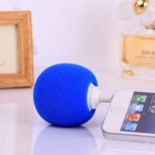 Portable 5.5CM Novelty Wireless Mini Ball Speaker Balloon Mobile Audio Docks Cute Music Ball Player For IPhone Samsung