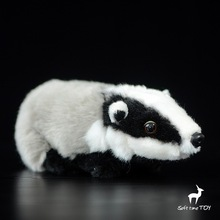 Cute Stuffed Toy Badger Doll  Simulation Animal Toys Baby  Gifts Shops