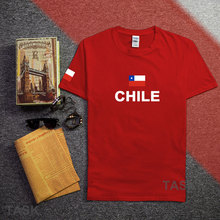Chile men t shirts Chilean 2017 jerseys CL nation 100% cotton t-shirt meeting fitness brand clothing tees country flag Chilean