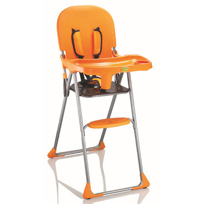 Free Shipping Child Portable Folding Dining Chair Kid High Baby Feeding With Cover