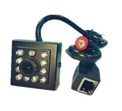 Hot Sale Mini Pinhole Network H.264 Onvif P2P 1.0 Mega pixel 720P Hd 10Pcs Invisible 940nm Leds Infrared IP Camera With Ir Cut<br>