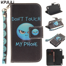 Colorful Wallet Case for iPod Touch 5 6 5th/6th Generation Luxury PU leather Flip Stand Card Slot Holder Cover with Hand Strap