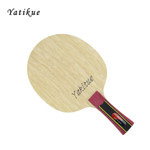 "YATIKUE Professional Series Carbon Fiber Long Handle Pure Wood Ping Pong Bat Carbon Fiber Table ""Tennis"" Blade Racket"