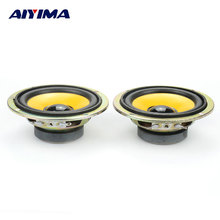AIYIMA 2Pcs Full Range Speaker DIY HIFI Loudspeaker Car Stereo Home Theater 5W 4Ohm 3Inch Audio Speakers