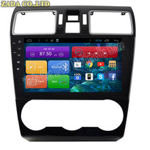 1024*600 9inch Quad Core Android 4.4 Car DVD GPS for Subaru Forester XV 2015 With Radio Bluetooth 16GB Nand Flash 3G Wifi