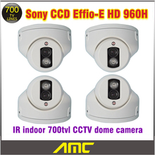 Buy 4PCS Sony Effio Ccd 700tvl CCTV Camera IR Array LED IR Indoor Dome CCTV Security Camera Night Vision Home Security Camera for $148.99 in AliExpress store
