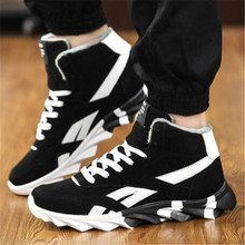 Newest Winter Sneakers for Men High Sneakers Shoes Sport Running Shoes Warm Sneakers Sport Shoes