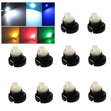 10pcs/lot T4.2 2 3528 LED White Red Blue Green Yellow light instruments panel Dashboard Cluster Gauges Led light bulbs