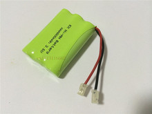 1PCS/lot New riginal Ni-MH AAA 3.6V 800mAh Ni MH Rechargeable Battery Pack With Plugs For Cordless Phone Free Shipping
