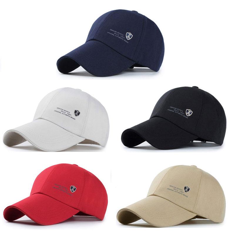 Eagleborn Curved Brim Baseball Cap - Full Cap Style Color Options