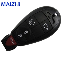 maizhi 5pieces/lot 5 Buttons Remote For Commander Grand Cherokee Key Shell Fob For JEEP For CHRYSLER For DODGE Key Case Cover(China)