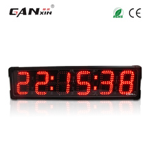 [Ganxin]6'' Controlling with Long Distance Race Timing System Led Race Timer for Sports