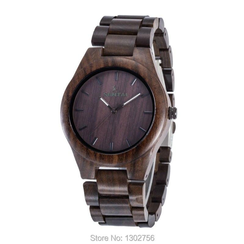 Black Sandal Wood Watch For Men &amp; Women Top Luxury Uwood Brand Wooden Watches MIYOTA Quartz Movement Analog Wristwatch Best Gift<br><br>Aliexpress