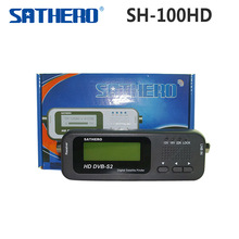 1pc Original Sathero SH-100HD digital signal finder satellite meter  DVBS/S2 with USB 2.0 free shipping