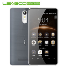 "Original Leagoo M8 Smart Phone MT6580A Quad Core 2GB RAM 16GB ROM 13.0MP 3500mah Fingerprint Android 6.0 5.7""HD 3G Mobile Phone"