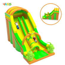 New Item Giant 0.5 mm PVC Inflatable Bouncy Dry Slide Game for Sale