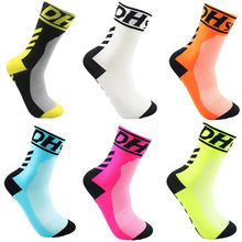 Buy DH Sports New Mountain Road Bike Socks Cycling Sport Socks Racing Cycling Socks Top Professional Brand Riding Sock for $2.84 in AliExpress store