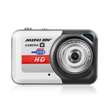 New Version Small Size X6 Gray Mini HD Digital Camera Hot Sale Portable Ultra Mini HD Digital Camera Finger Size Digital Camera(China)