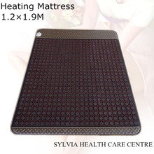 Best present for mom! Warm heating Massage Bed Therapy Mattress Full-body Jade Physical Therapy Thermal Heat cushion 1.2X1.9M
