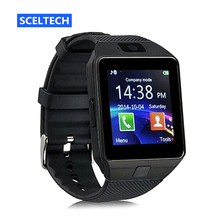 SCELTECH WristWatch SC09 Bluetooth Smart Watch Sport Pedometer Support SIM Card Camera Smartwatch For Android iPhone Smartphone(China)
